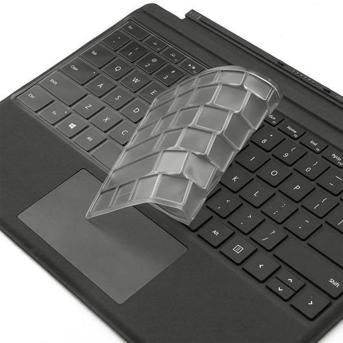 Keyboard Protective Cover for Microsoft Surface Pro 6 / 5 / 4 - Clear
